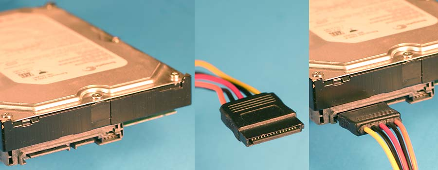 PC power supply cables and connectors